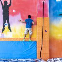 Canary Jump escalada con cuerda